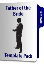 Father of the Bride Speech Template Pack